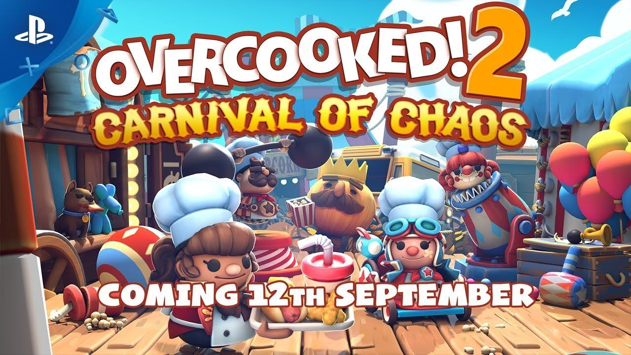 Overcooked! 2 Carnival, Now games, Games