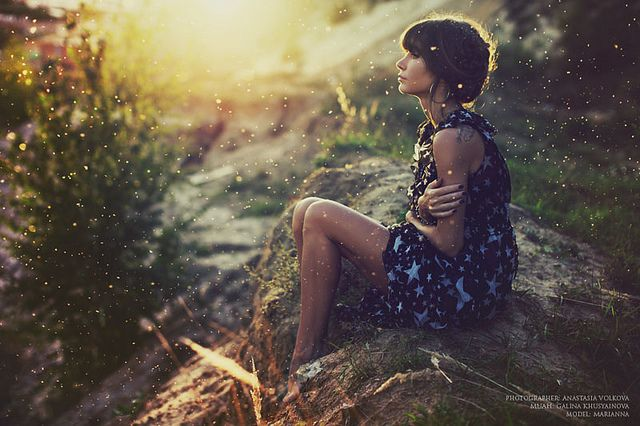 life | enveloped by the sun light
