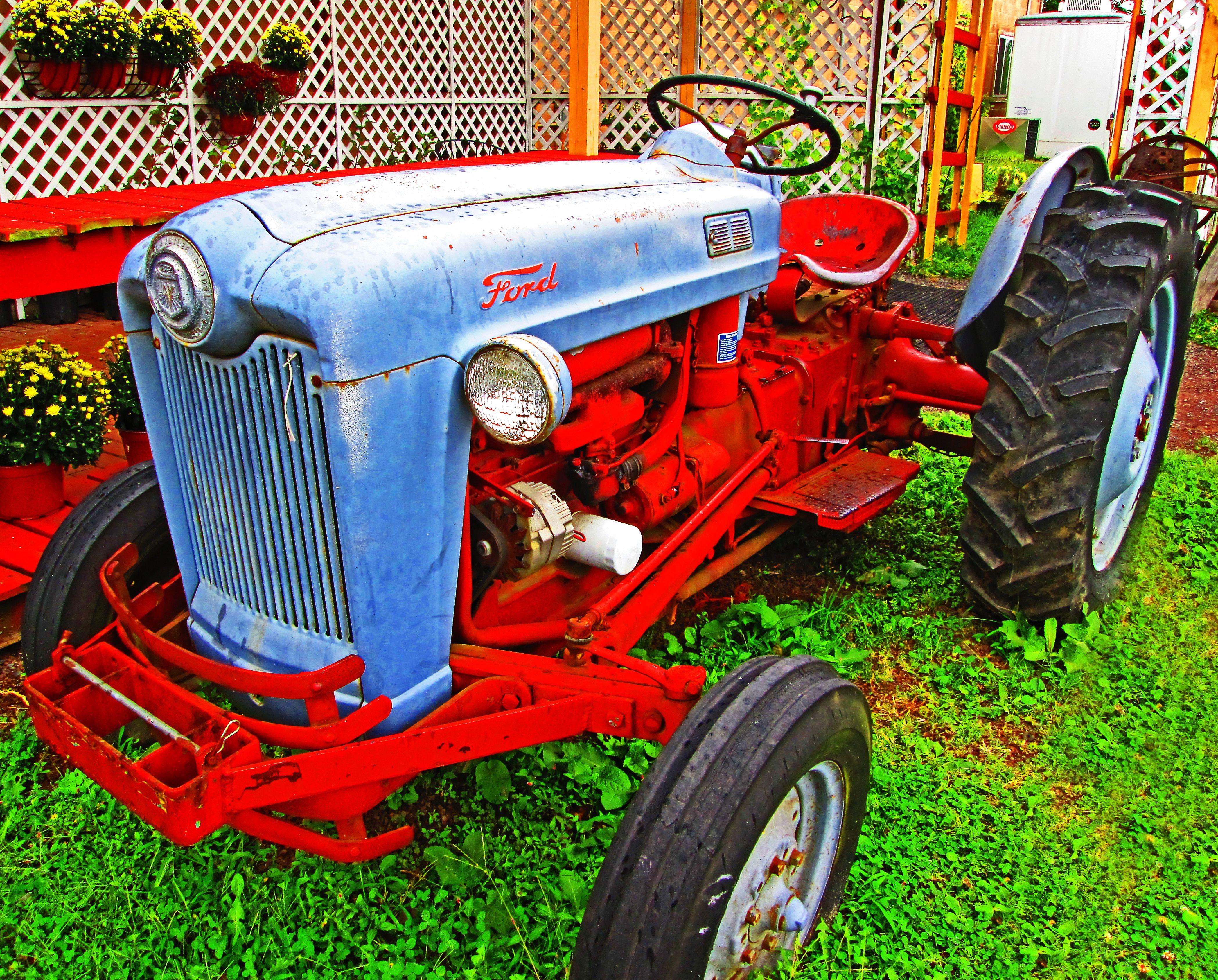 1953 Golden Jubilee Ford Tractor Love S Photo Album Tractors Ford Tractors 8n Ford Tractor