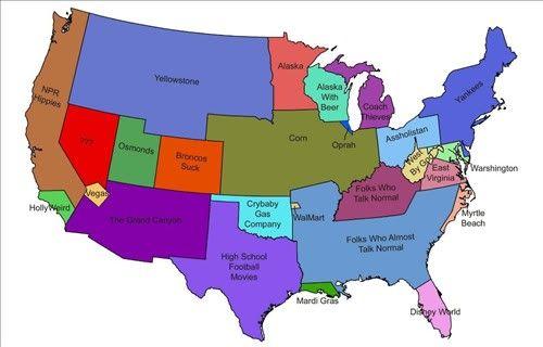 Redneck US MAP | *Cheez* | Pinterest