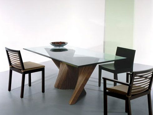 Wave Table By Kenneth Cobonpue Contemporary Dining Room