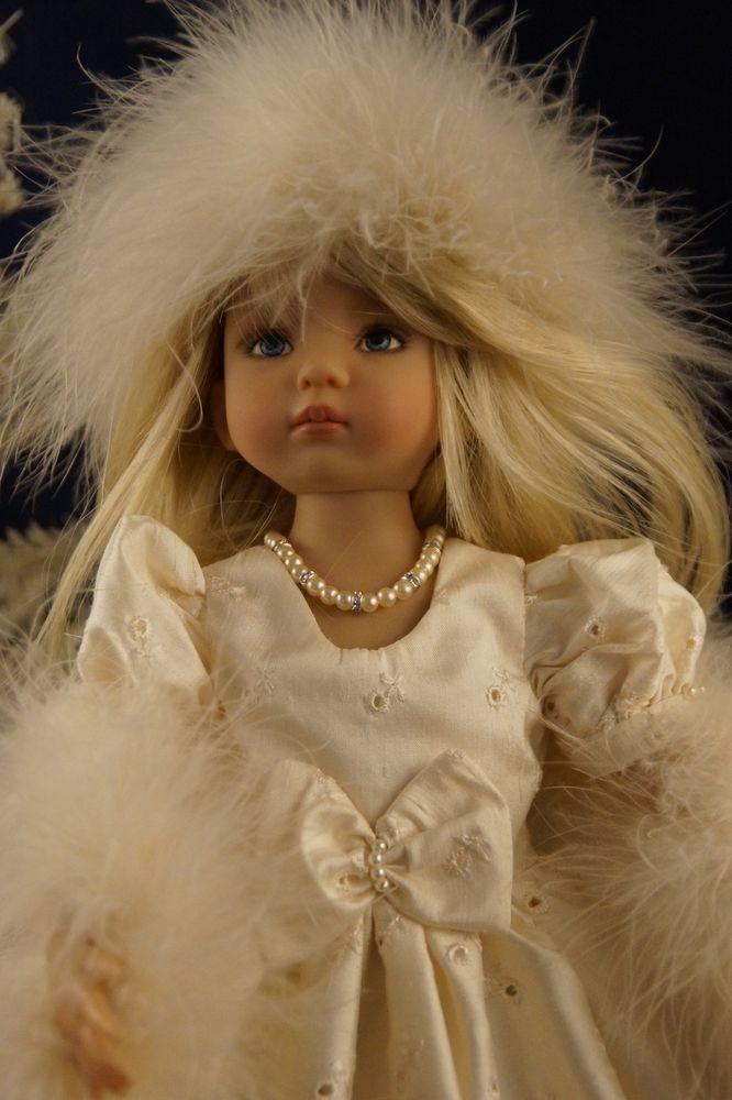 "Effner 13"" Little Darling *WINTER SILK* Ensemble by Ladybugs Doll Designs ~ OOK"