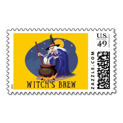 witch s brew postage stamp this great stamp design is available for