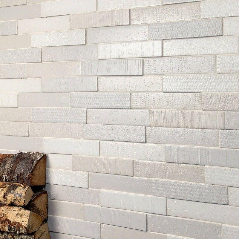 Portico Beige 3d Mix Ceramic Mosaic Tile Tilebar Com Ceramic Mosaic Tile Mosaic Tiles Creative Flooring