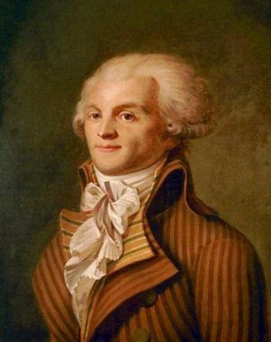 Portrait of Maximilien de Robespierre c. 1790