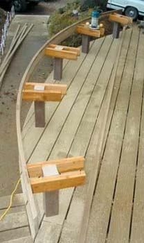 Curved Benches Outdoors In 2019 Curved Bench Bench