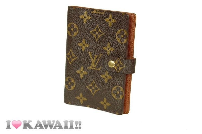Authentic Louis Vuitton Monogram Agenda PM Diary Cover Organiser Free Shipping! #LouisVuitton #DiaryCover