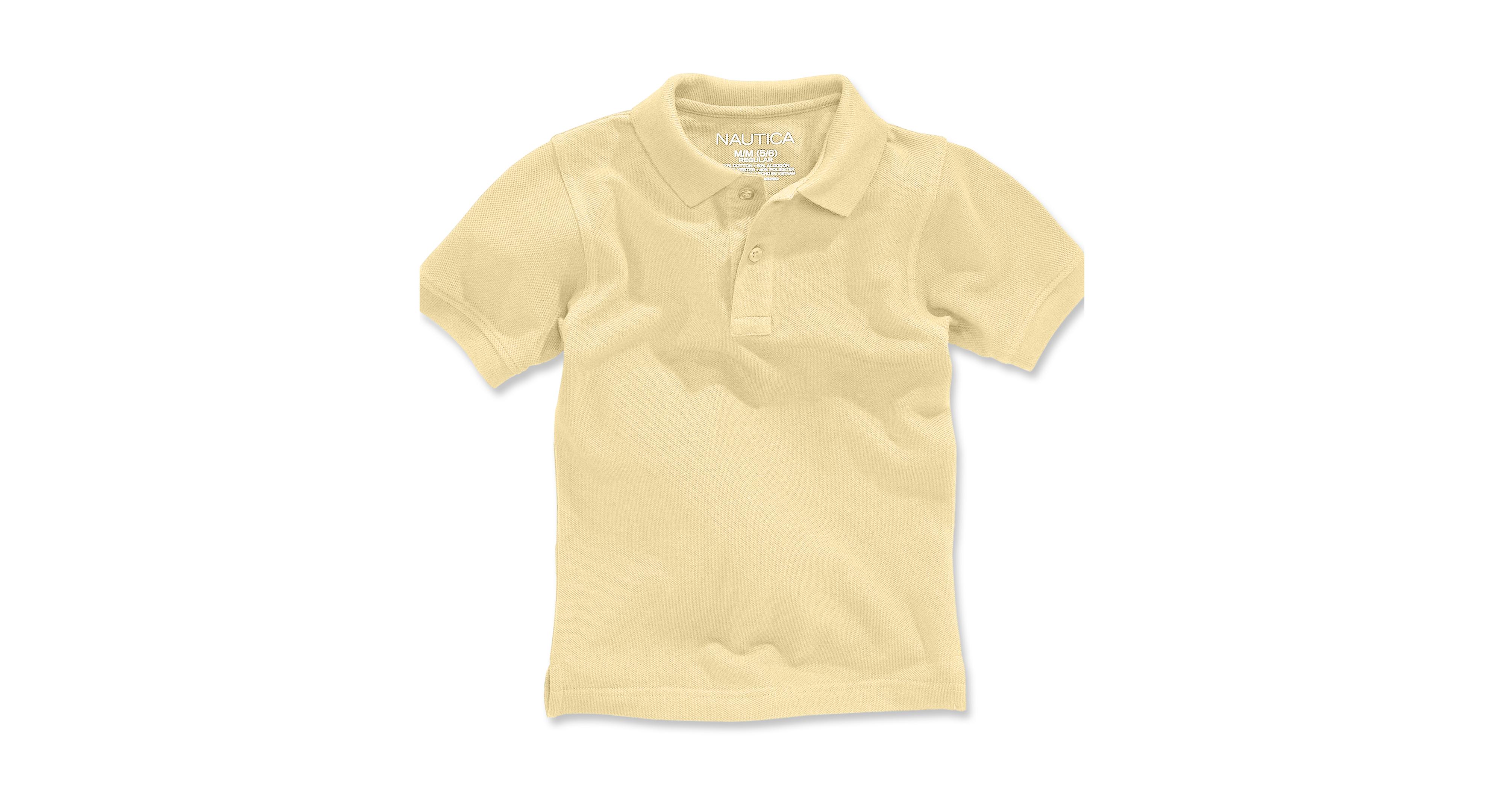Nautica Little Boys' Uniform Polo