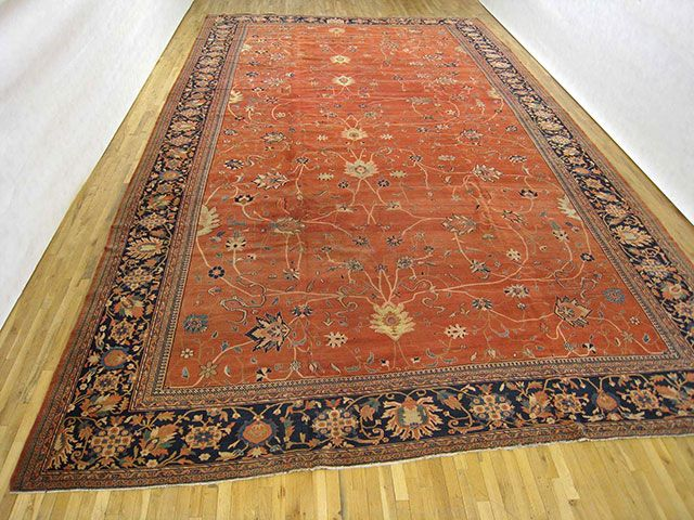 "Item # 29379  Ferahan Sarouk  23' 0"" x 13' 0"" Antique Persian Ferahan Sarouk at Persian Gallery New York - Circa 1890"