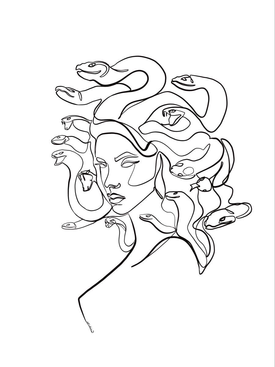 Medusa wallpaper