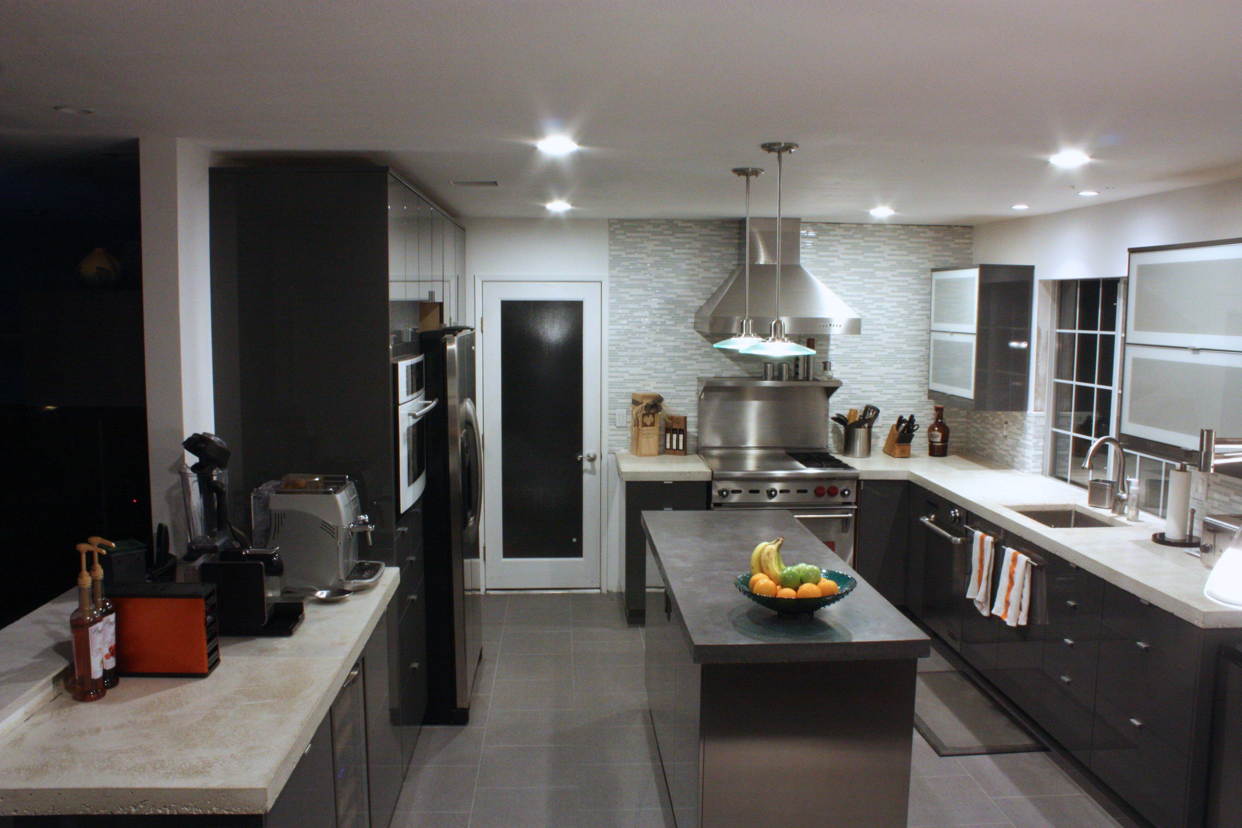 GREAT DIY kit for modern concrete countertop Z
