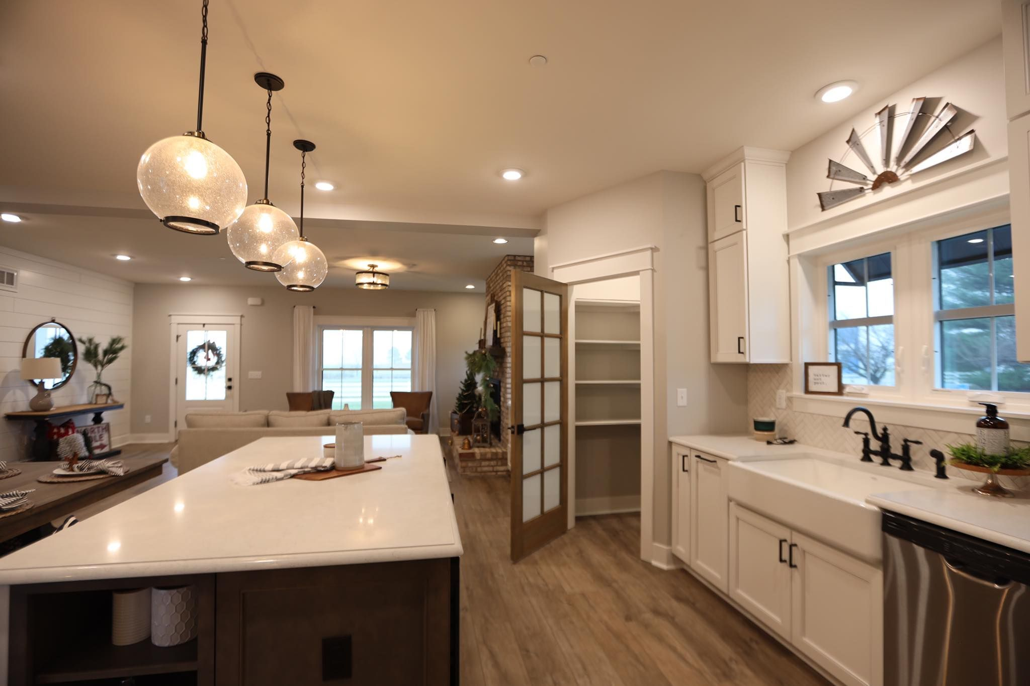 Custom Kitchen with Beracah Homes. Inside our Hayshaker