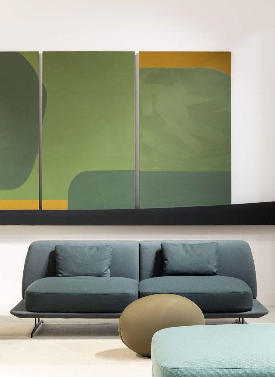 Trays Sofa Set Designed By Parisotto Formenton For Baleri Italia Available At Linea Inc
