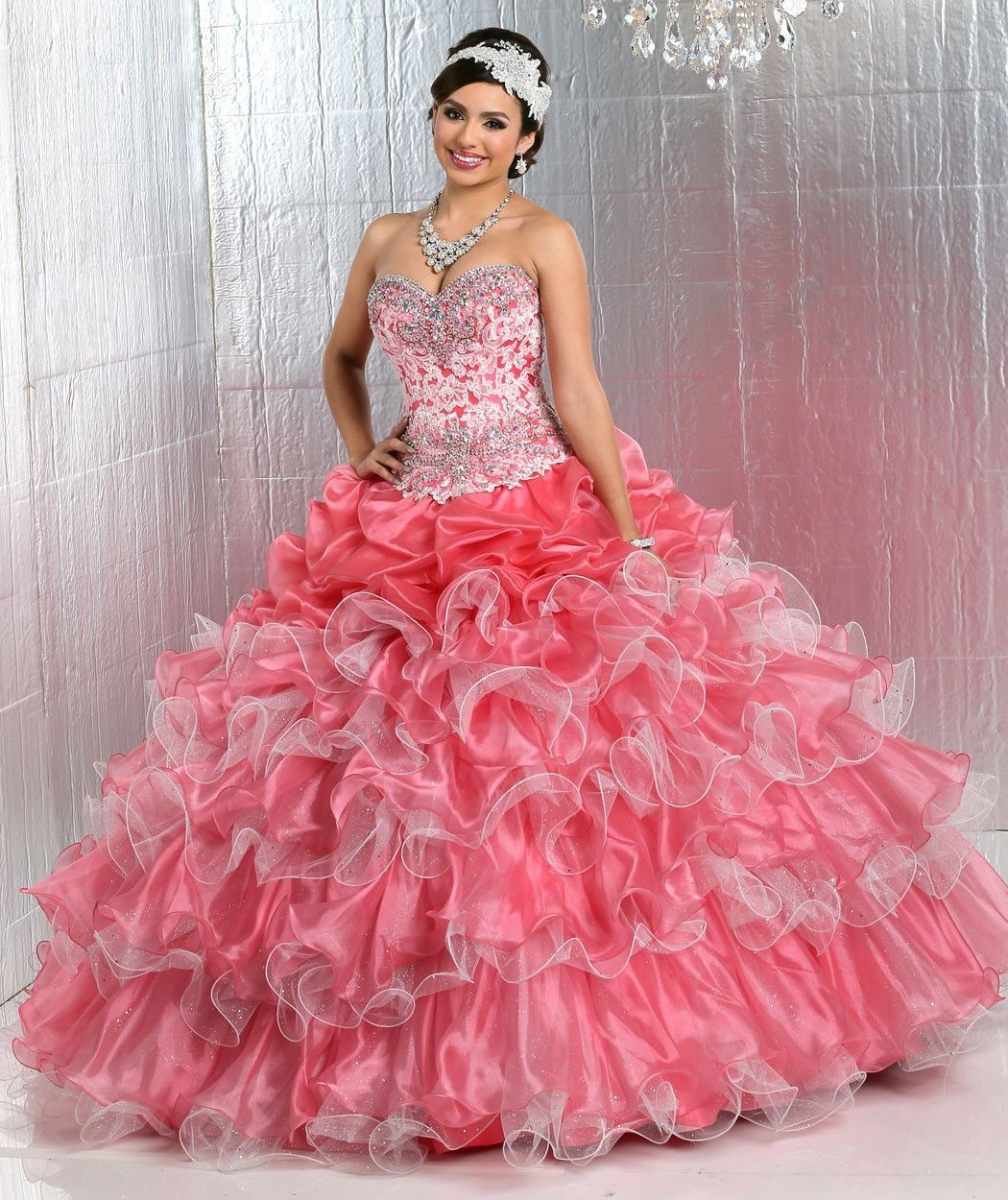 Q by DaVinci Quinceanera Dress Style 80281
