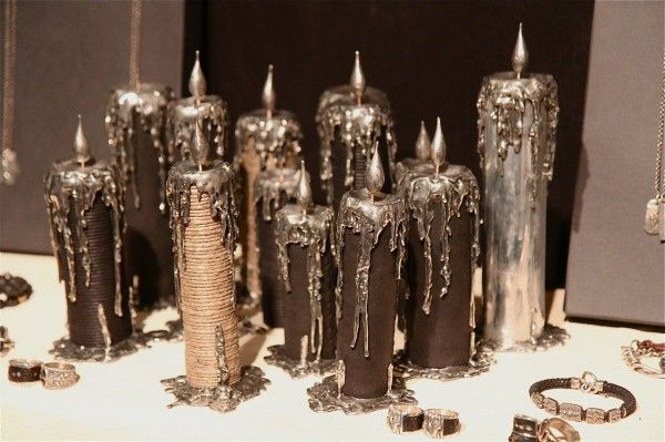 Tobias Wistisen Jewelry  by Eugene Rabkin - I love the decorative candles.