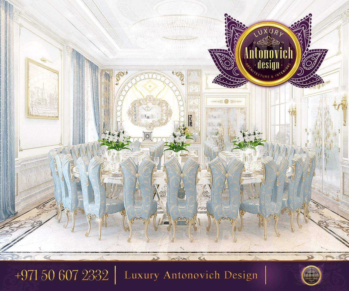 Beautiful dressing room design in dubai by luxury antonovich design - Luxury Dining Room Design Antonovich Design Ae