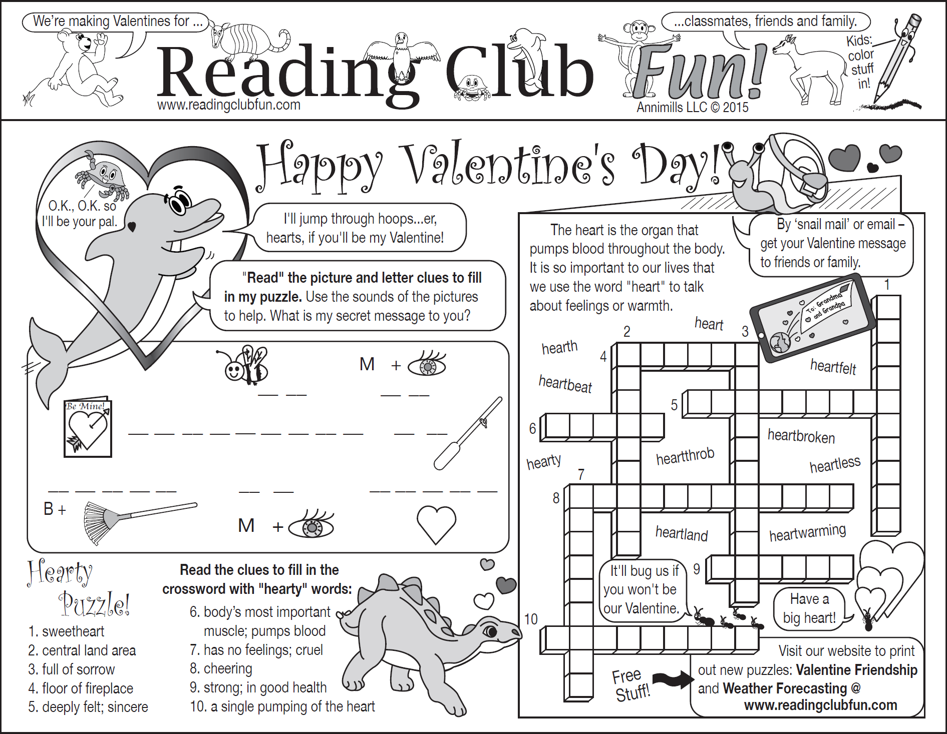 Bundle Valentine S Day And Friendship Two Page Activity