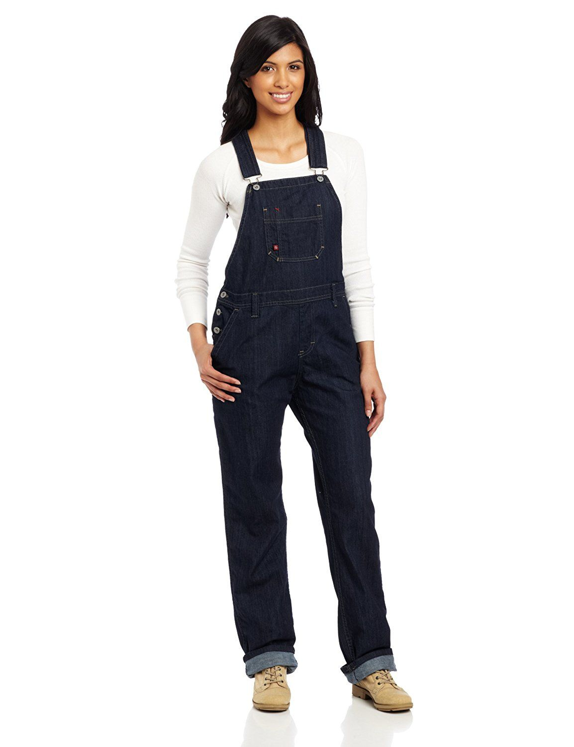 dickies women s denim bib overall this is an amazon on dickies coveralls id=22369
