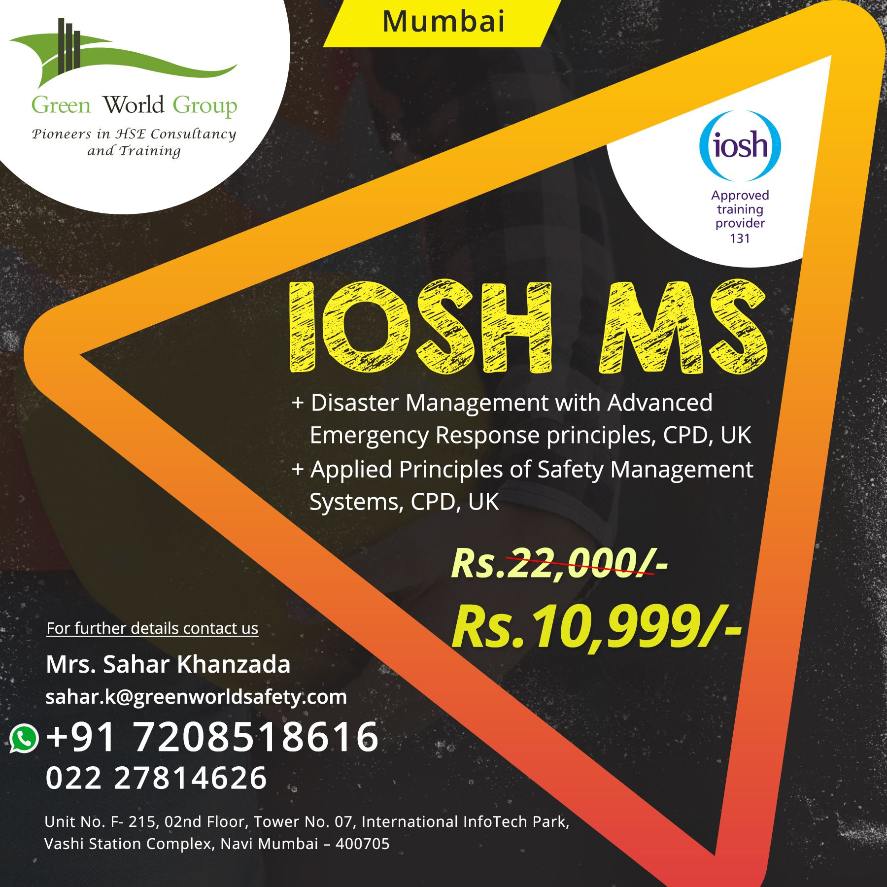 What will you learn in IOSH MS Course? in 2020 Safety