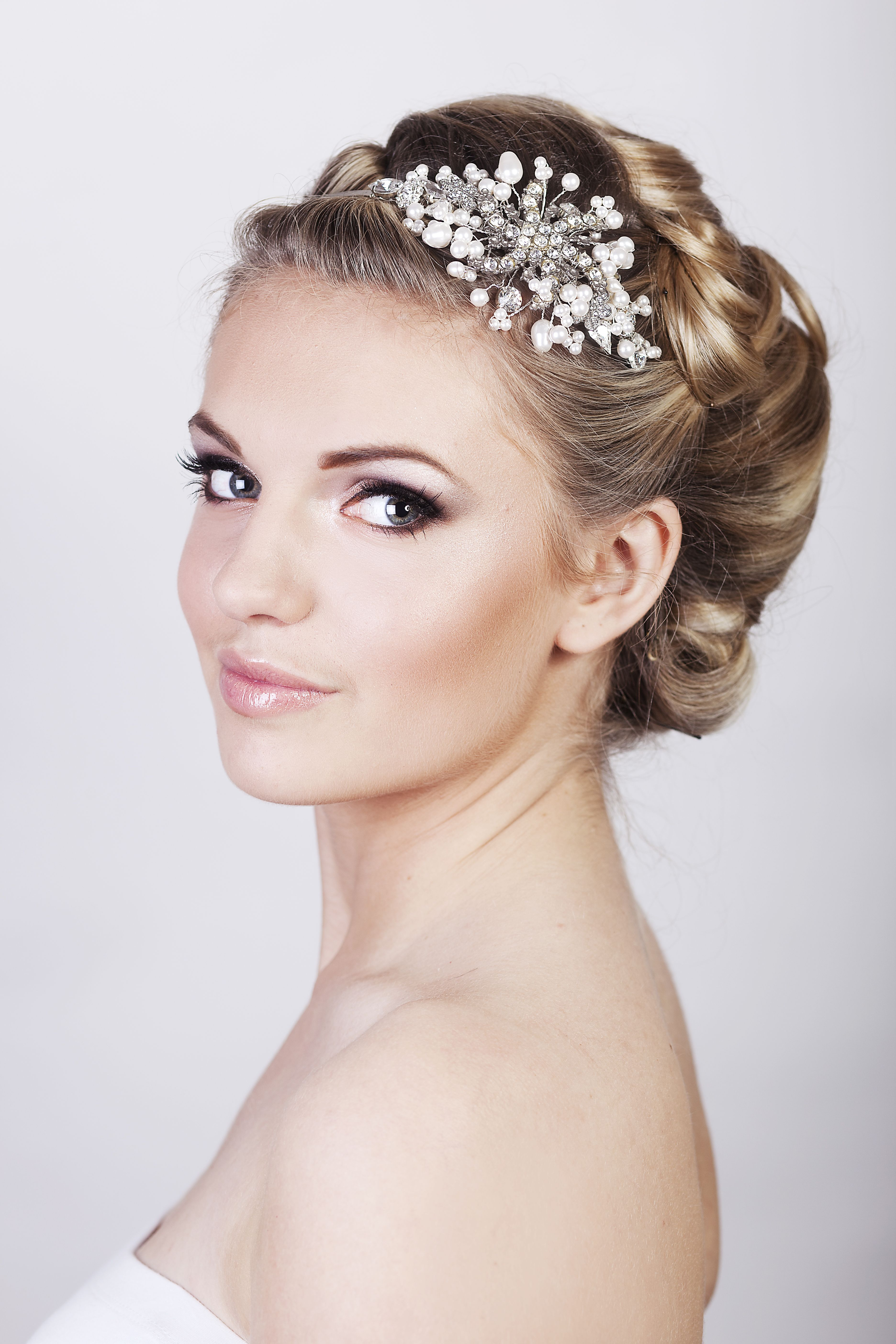Glamorous Bridal Makeup by moi.