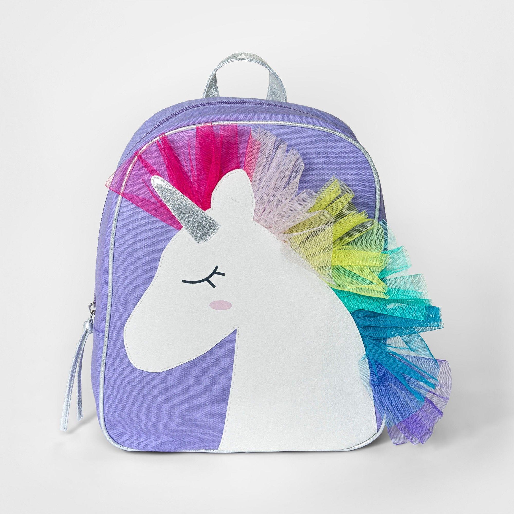 Girls\' Unicorn Mini Backpack - Cat & Jack Purple | Unicornios y ...