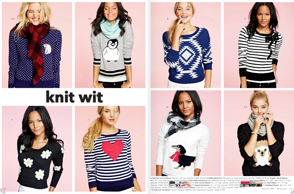 knit wit- sweaters