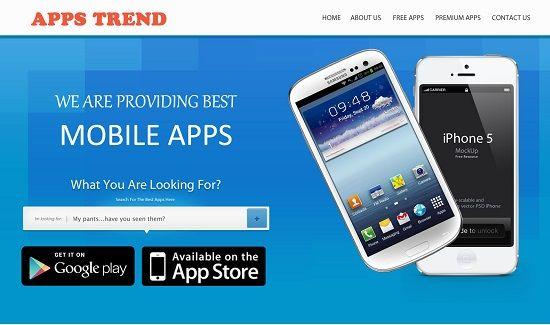 Free Premium PSD App Web Template App and Template - Free App Template