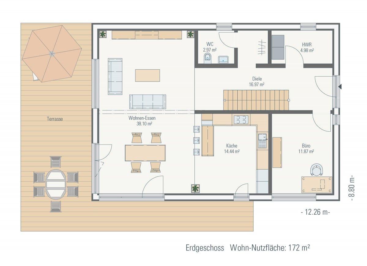 Passivhaus grundriss  p9 - Family-Plus-Haus   Petershaus: Individuelles Bauen, frei ...