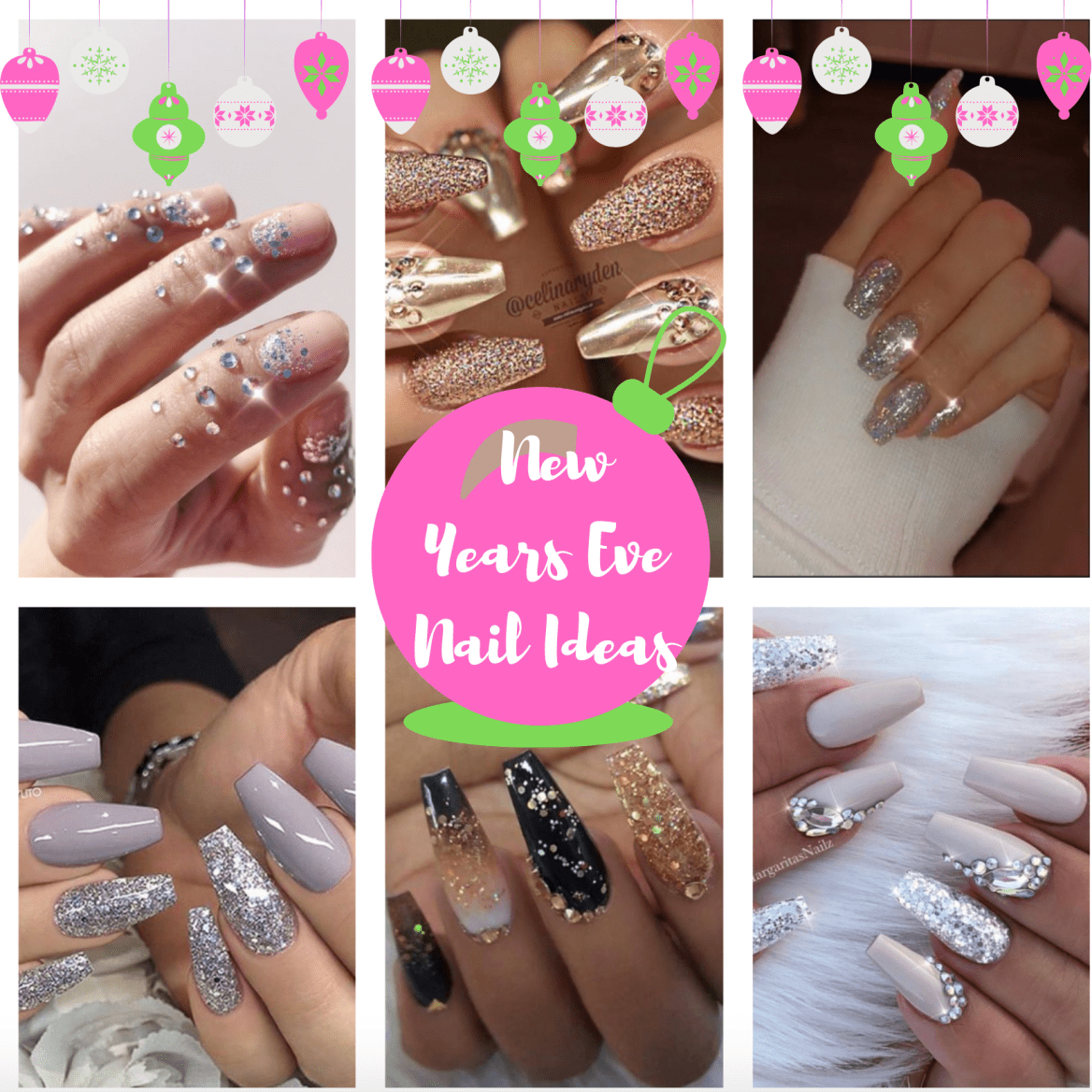 The Most Glamorous Nail Ideas For New Years Eve Blogmas