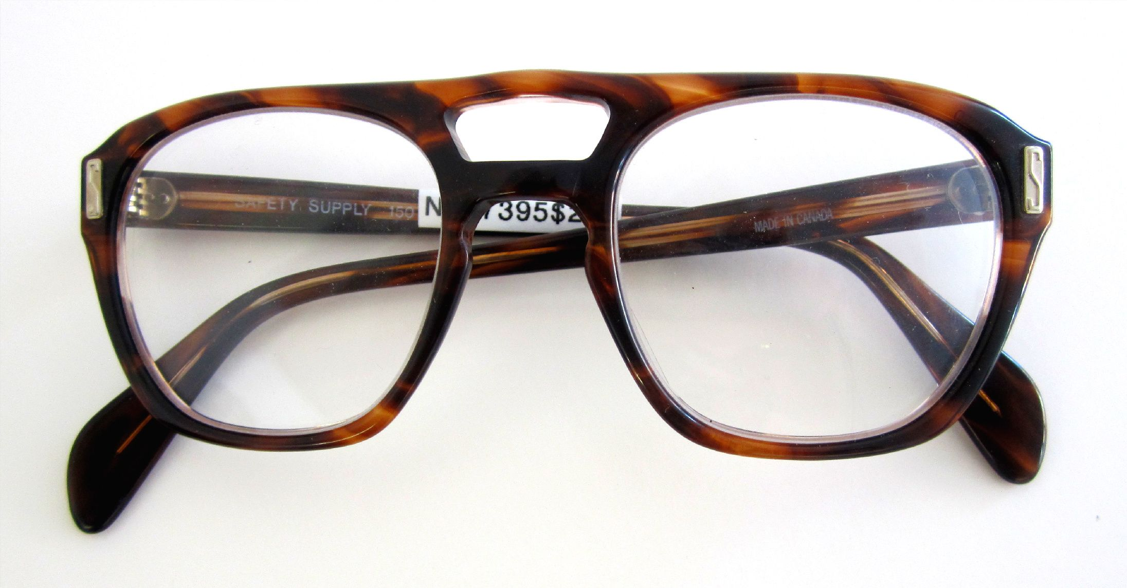 MadeinCanada vintage Safety Supply glasses from