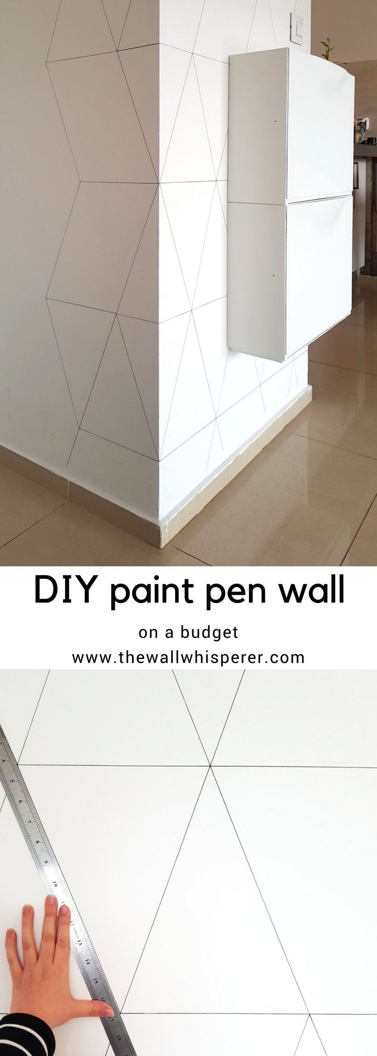 Blukatkraft Diy Quick Easy Wall Art For Bathroom: DIY Nordic Marker Wallpaper Project
