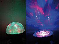Lunartec Laser Kugel Lampe Mit Polarlicht Effekten Zimmerdecken Sternenhimmel Projektor Polarlichter