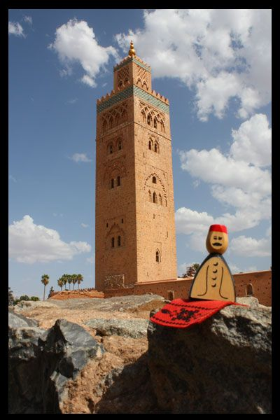 Assam from the game Marrakech send us a picture during his holidays
