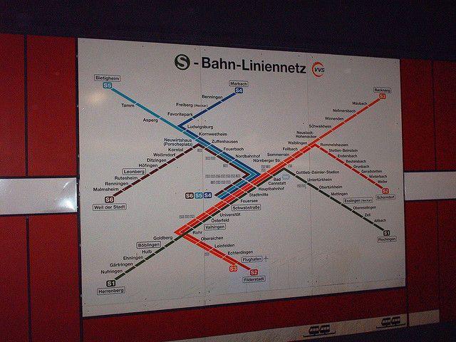 SBahn Map Stuttgart Stuttgart