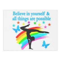 BELIEVE IN YOURSELF GYMNASTICS QUOTE FLEECE BLANKET http://www.zazzle.com/mysportsstar/gifts?cg=196751399353624165&rf=238246180177746410   #Gymnastics #Gymnast #WomensGymnastics #Gymnastgift #Lovegymnastics #Gymnastquote