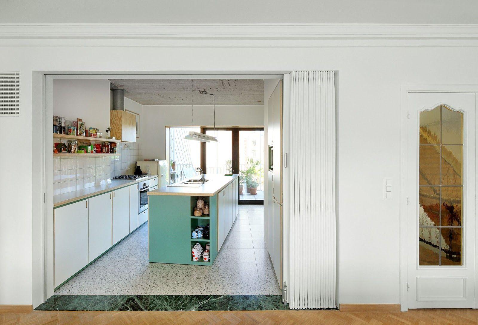 Dierendonckblancke Architects Renovation Of A Terraced House  # Muebles Kowalczuk