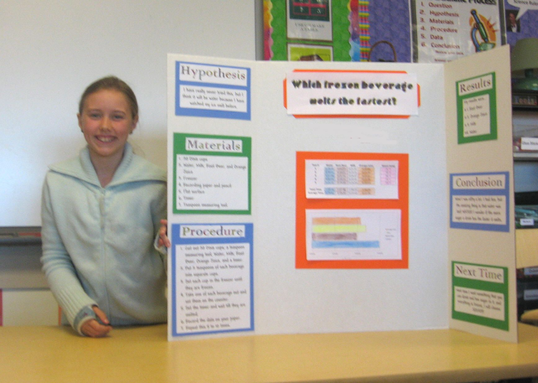 great science fair project ideas…which popsicle melts the fastest