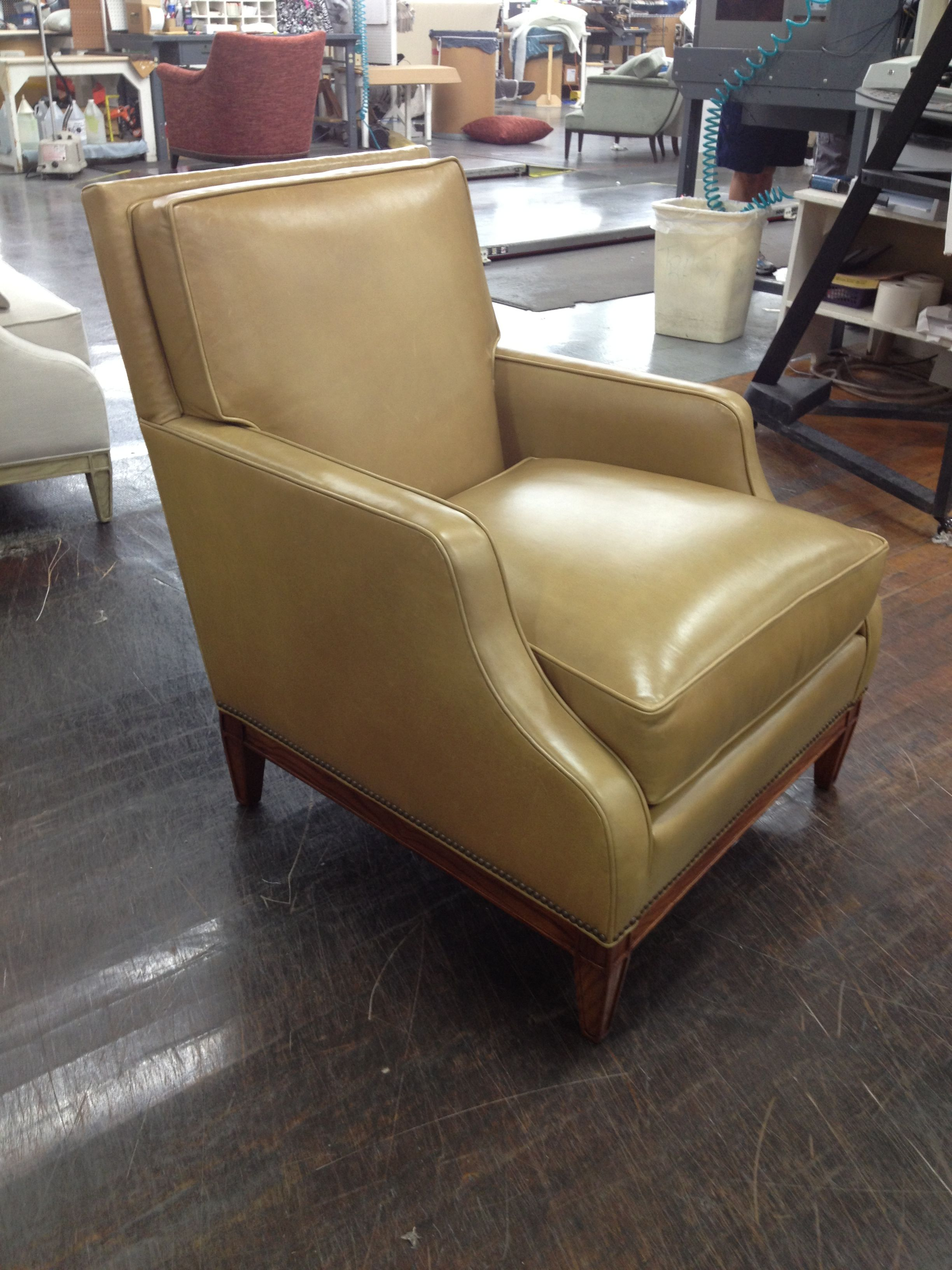 Beau The Monroe Chair From Suzanne Kasler Collection In 942 Provost Taupe  Leather And Light Walnut Finish. Http://www.hickorychair.com /Search/SearchResults.aspx?