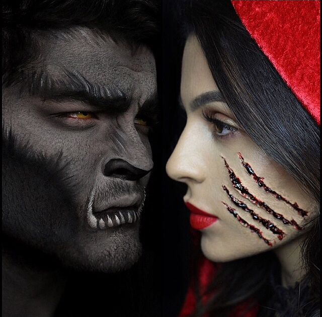 Big Bad Wolf  Little Red costumes Pinterest Carnavales - maquillaje para halloween para hombre