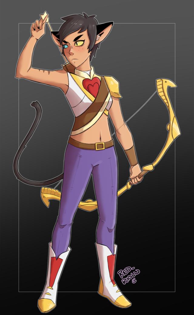 [OC] catgirl adora ^^ : PrincessesOfPower   Cat girl, She