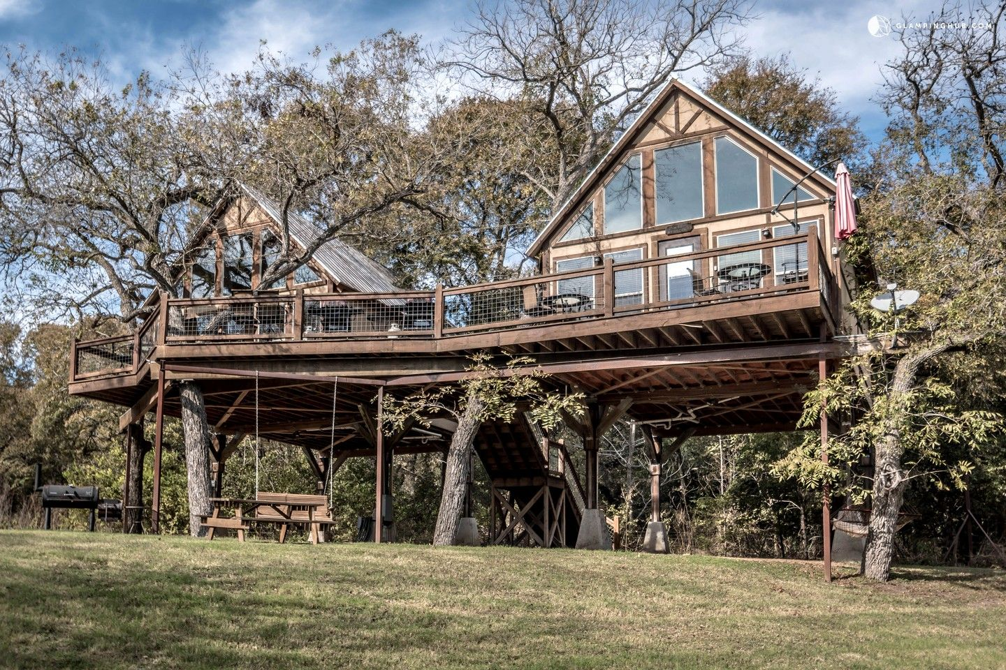 Superieur Creekside Tree House Rentals In New Braunfels, Texas
