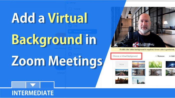 Zoom Resource Center Chris Menard Training Office Training Virtual Greenscreen