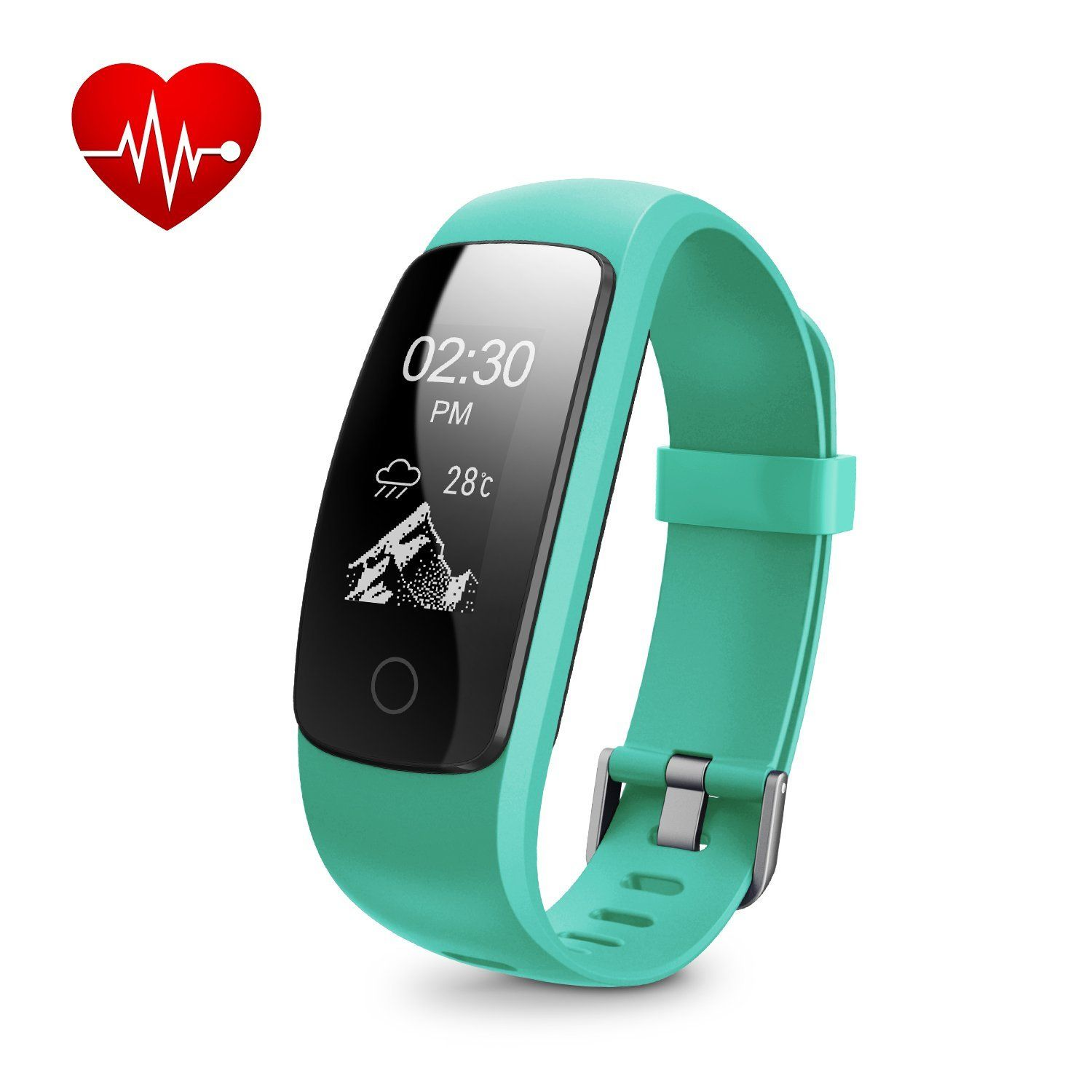 band bluetooth fitness heart mi tracker watches product with and sensor black smart rate