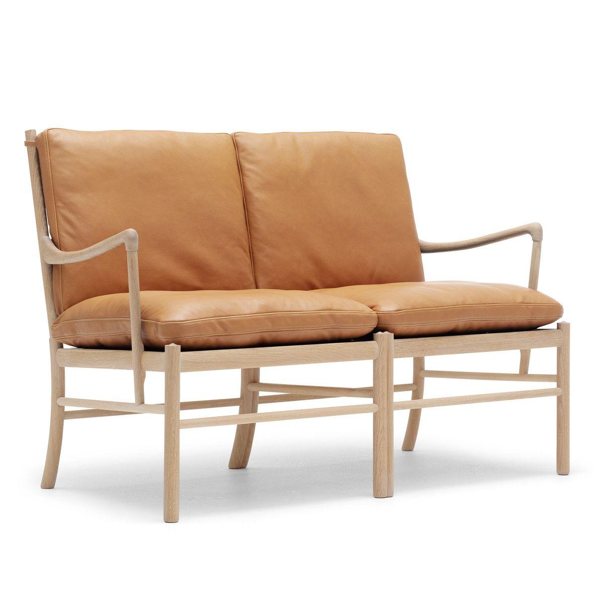 OW149-2 Colonial sofa fra Carl Hansen fremstillet af oliebehandlet ...