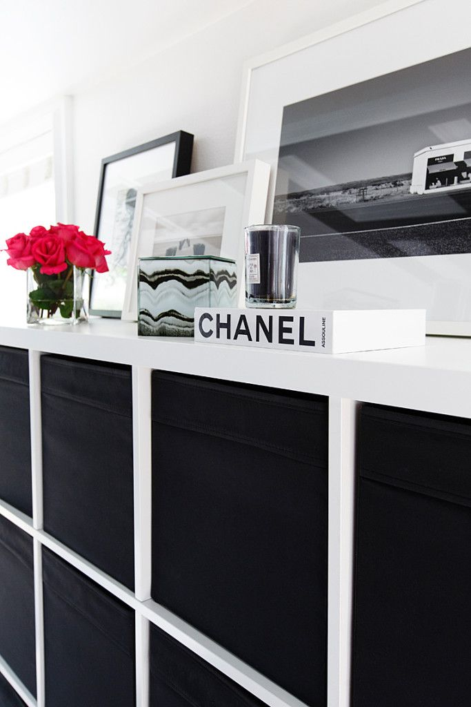 Get the look: Hollywood Glam black and white office space — The Decoris