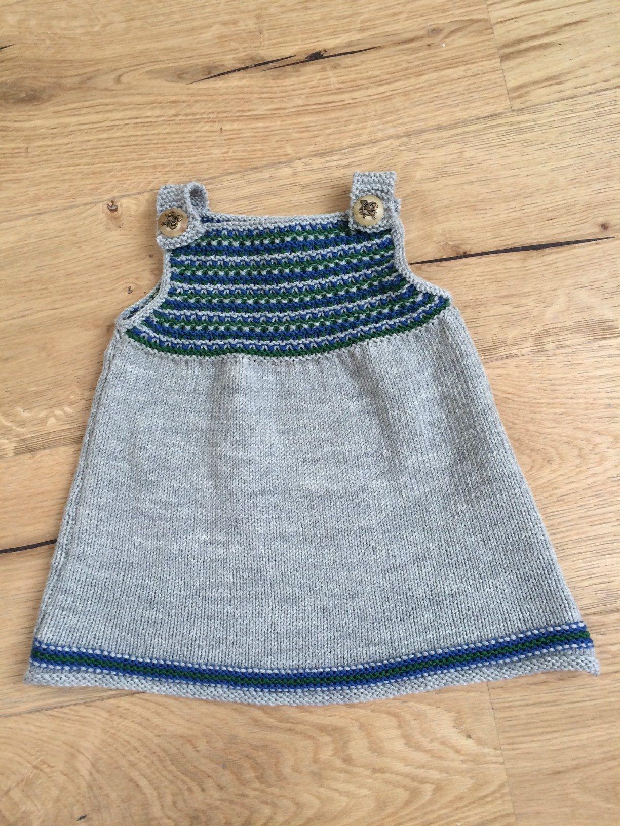 Babykleid stricken macht Spass! #vestidosparabebédeganchillo