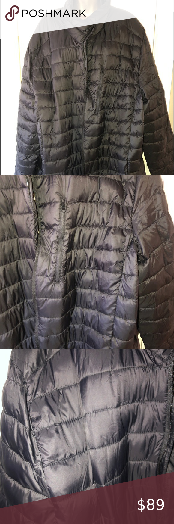 Foundry Black Puffer Jacket Aize 3xl Tall Foundry Black Puffer Jacket Size 3xl Y All Pack Able Brand New With T Black Puffer Jacket Black Puffer Puffer Jackets [ 1740 x 580 Pixel ]