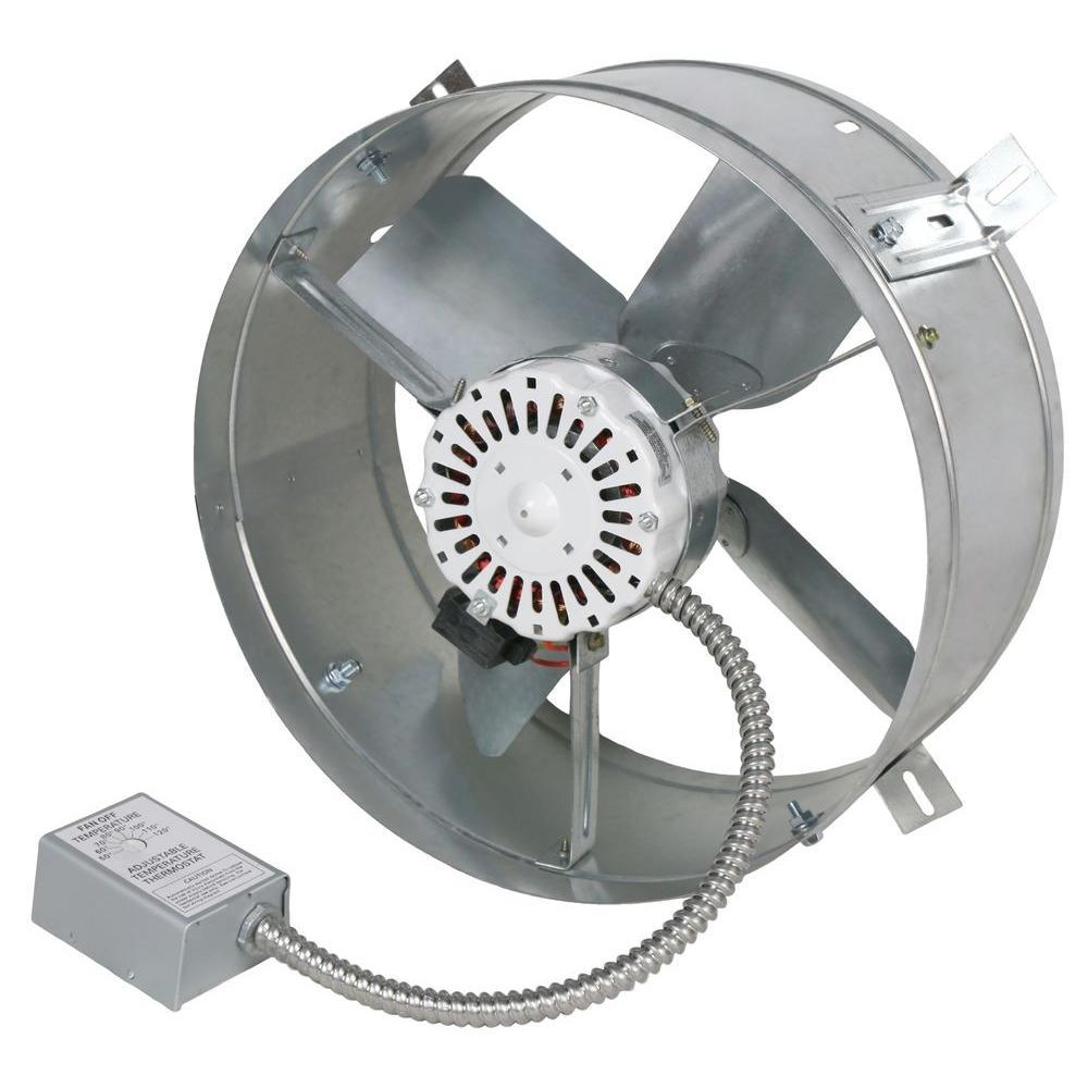 Ventamatic Cool Attic 1650 Cfm Energy Efficient Power Gable Mount