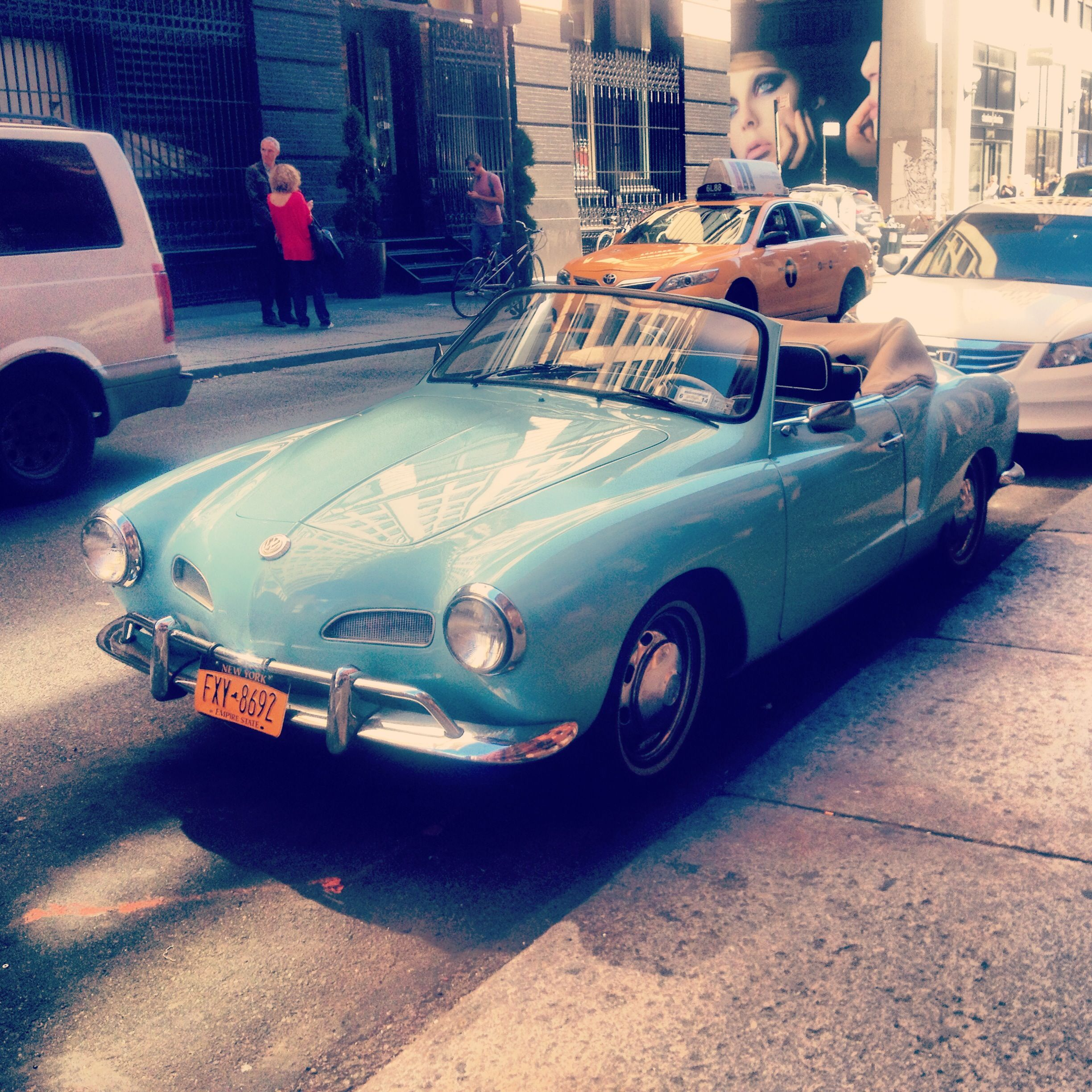 What a beautiful baby blue classic convertible. Restored vintage ...