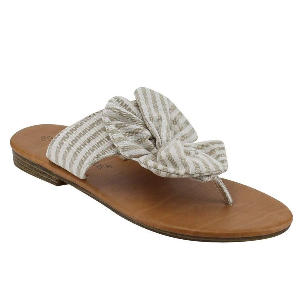 da0ed60a4 Nature Breeze Womens Bow Thong Fabric Denim Summer Beach Flip Flop Flat  Sandal  fashion  clothing  shoes  accessories  womensshoes  sandals (ebay  link)